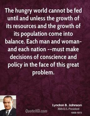 Lyndon B. Johnson's quote #3