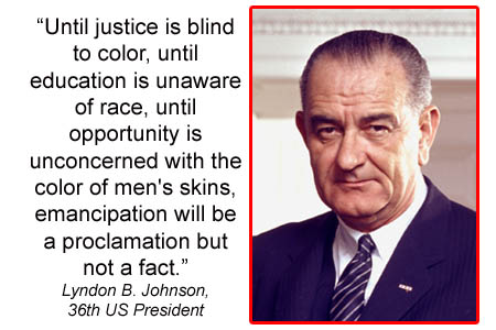 Lyndon Johnson quote #1