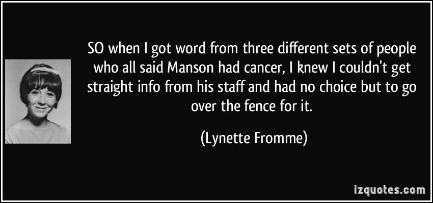 Lynette Fromme's quote #6