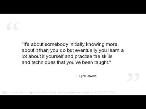 Lynn Davies's quote #3