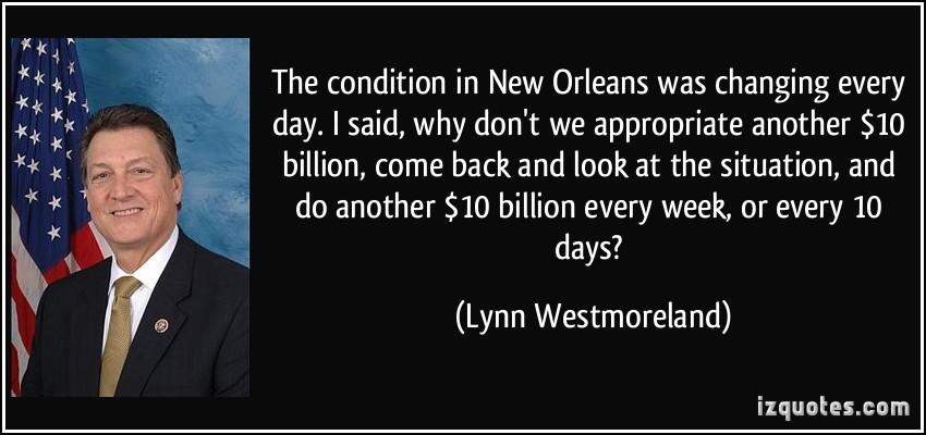 Lynn Westmoreland's quote