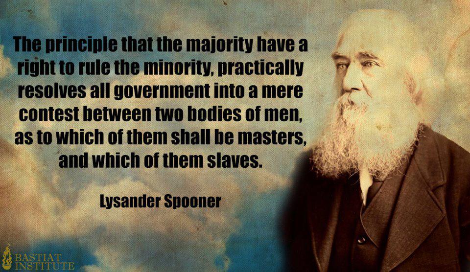 Lysander Spooner's quote #4