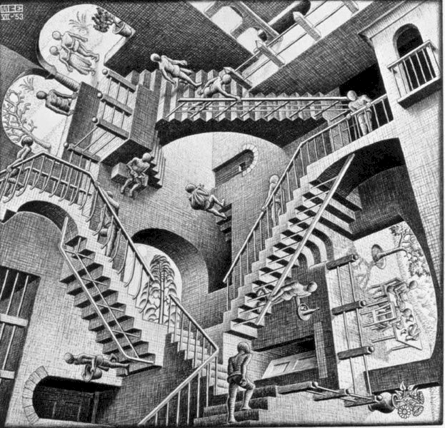 M. C. Escher's quote #8