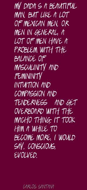 Macho quote #3