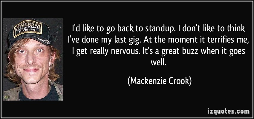 Mackenzie Crook's quote #1