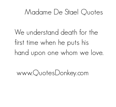 Madame de Stael's quote #5