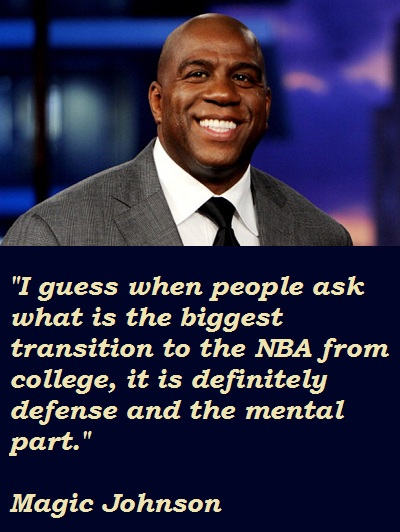 Magic Johnson quote #2