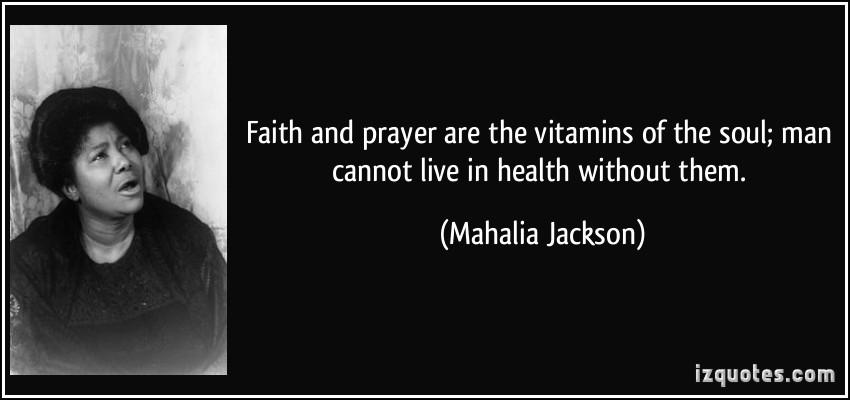 Mahalia Jackson's quote #4