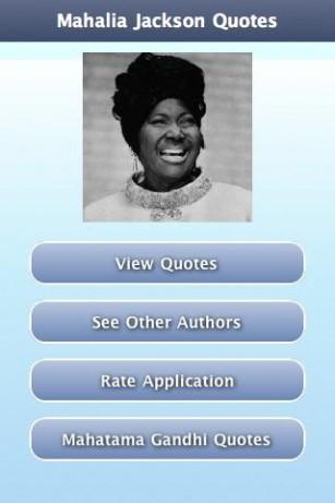 Mahalia Jackson's quote #7