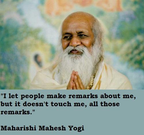 Maharishi Mahesh Yogi's quote #2