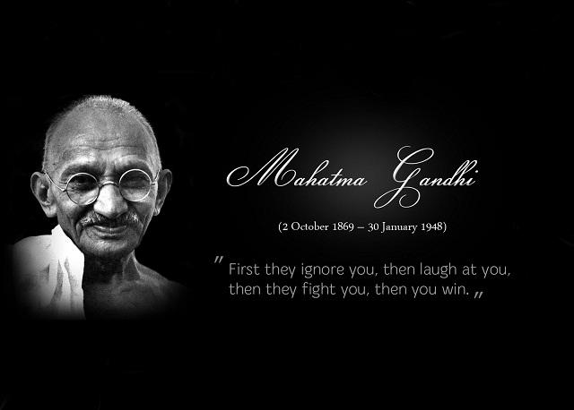 Mahatma Gandhi's quote #4