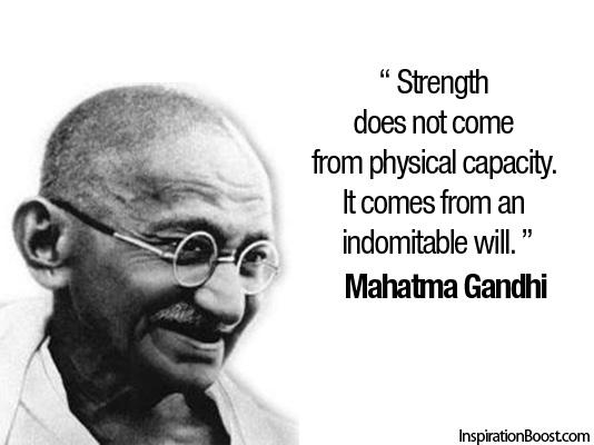 Mahatma Gandhi's quote #1