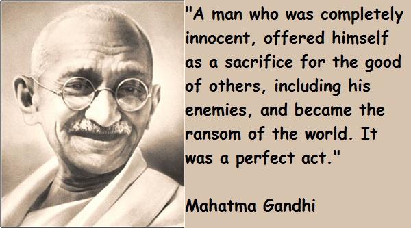 Mahatma Gandhi's quote #3