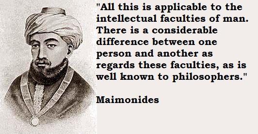 Maimonides's quote #5