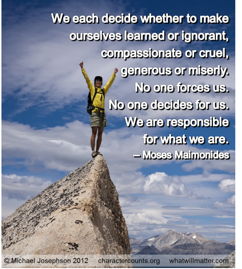 Maimonides's quote #3