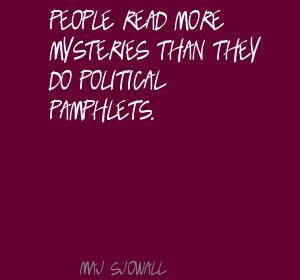 Maj Sjowall's quote #2