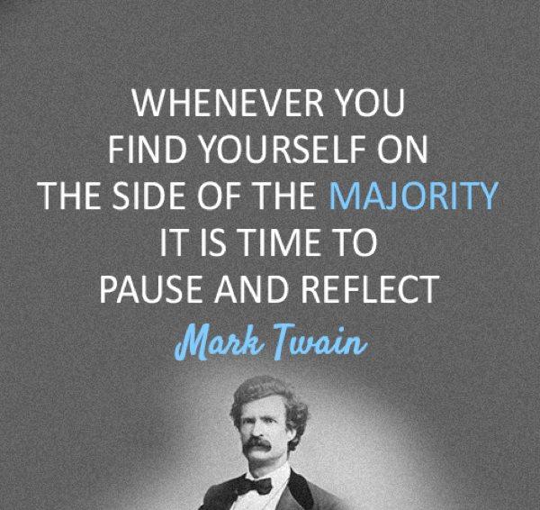 Majority quote #3