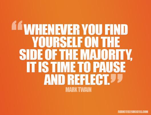 Majority quote #1