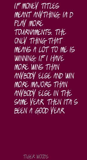 Majors quote #1