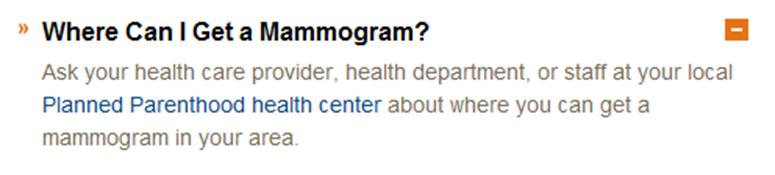 Mammograms quote #2