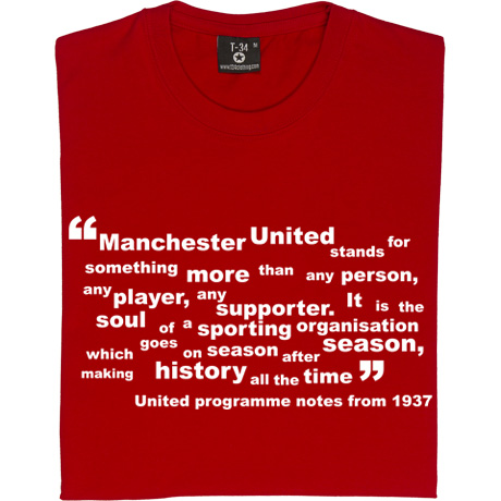 Manchester United quote #2
