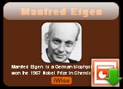 Manfred Eigen's quote