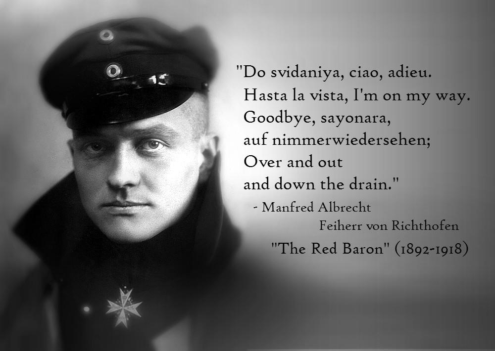 Manfred von Richthofen's quote #1