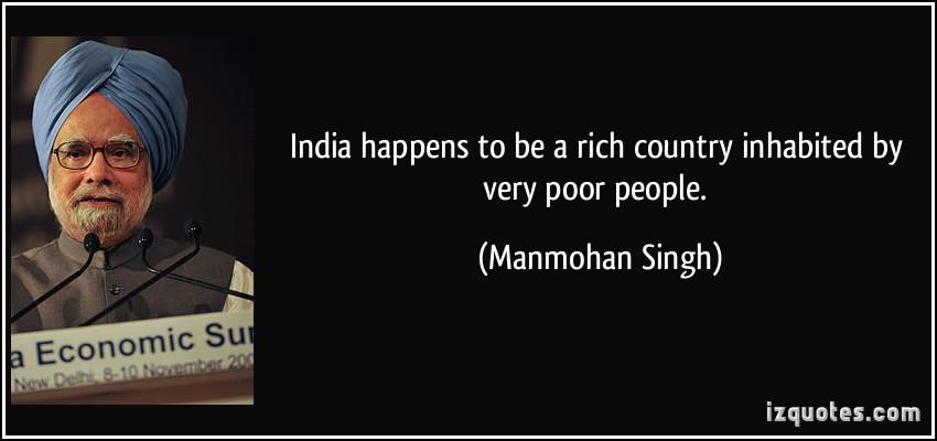 Manmohan Singh's quote #1