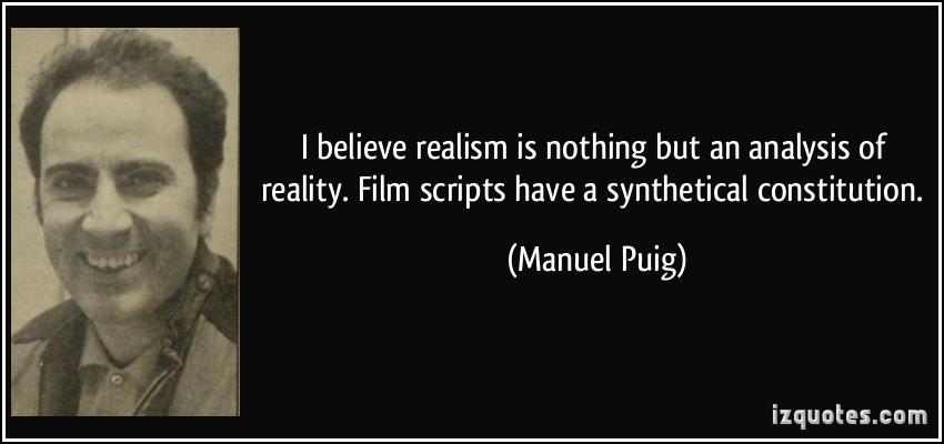 Manuel Puig's quote #1