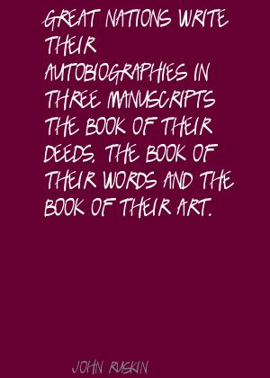 Manuscripts quote #2