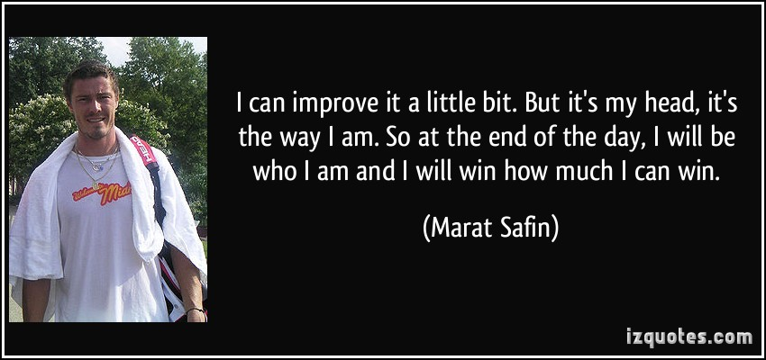 Marat Safin's quote #2