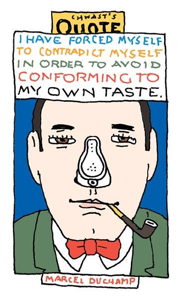 Marcel Duchamp's quote #1