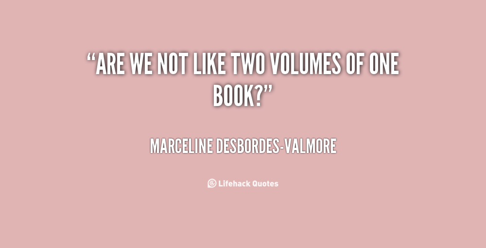 Marceline Desbordes-Valmore's quote