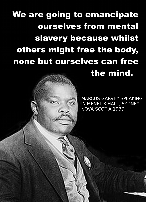 Marcus Garvey's quote #1