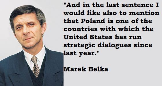 Marek Belka's quote #1