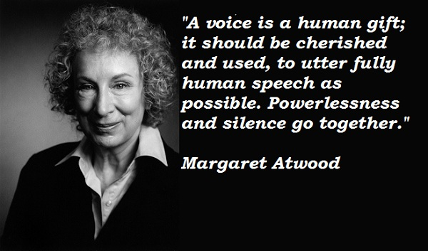 Margaret Atwood's quote #7