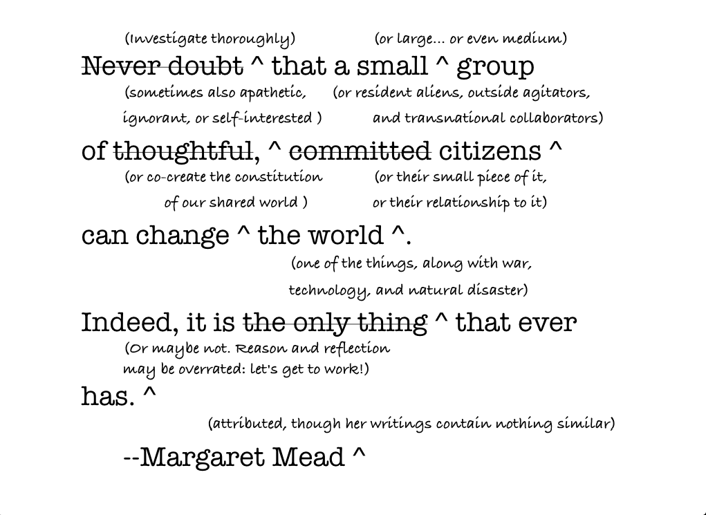 Margaret Mead's quote #1