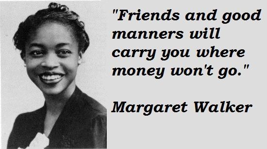 Margaret Walker's quote #1