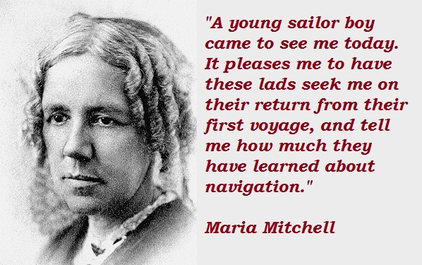 Maria Mitchell's quote #5