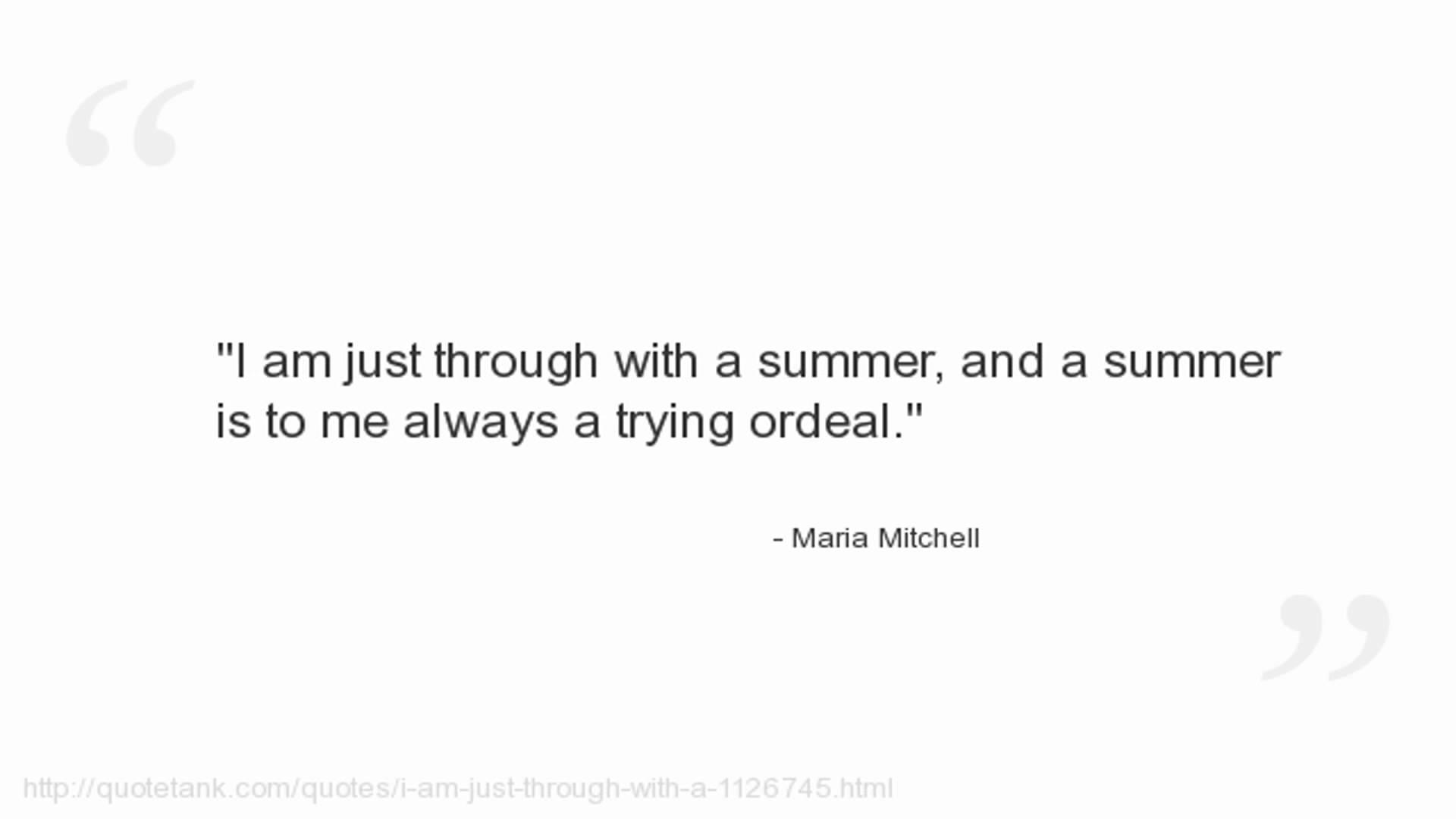 Maria Mitchell's quote #2