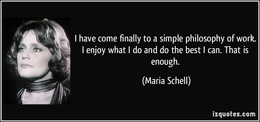 Maria Schell's quote #1