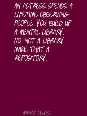 Marian Seldes's quote #6