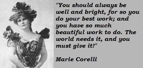 Marie Corelli's quote #1