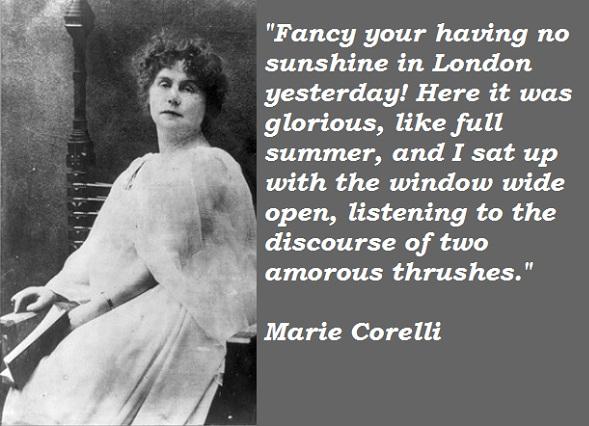 Marie Corelli's quote