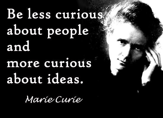 Marie Curie's quote #1