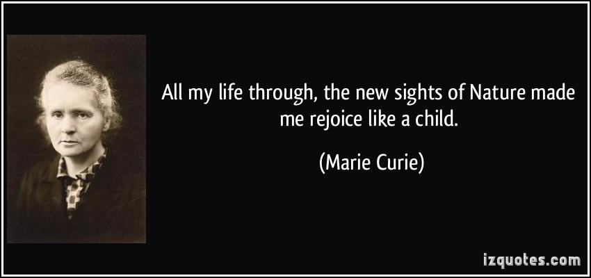 Marie Curie's quote #3