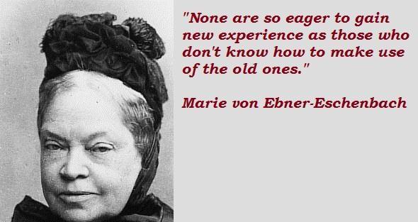 Marie von Ebner-Eschenbach's quote #1