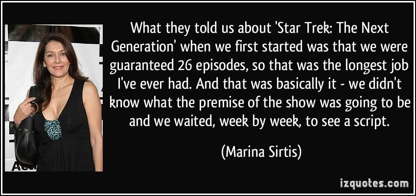 Marina Sirtis's quote #3