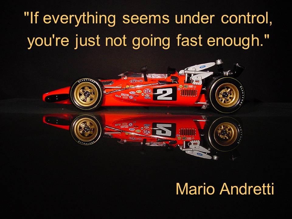 Mario Andretti's quote #3