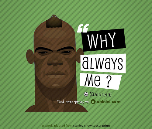 Mario Balotelli's quote #5